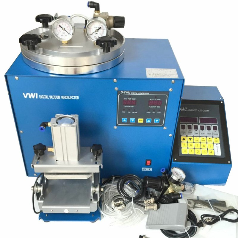 Digital Vacuum Wax Injector with AAC