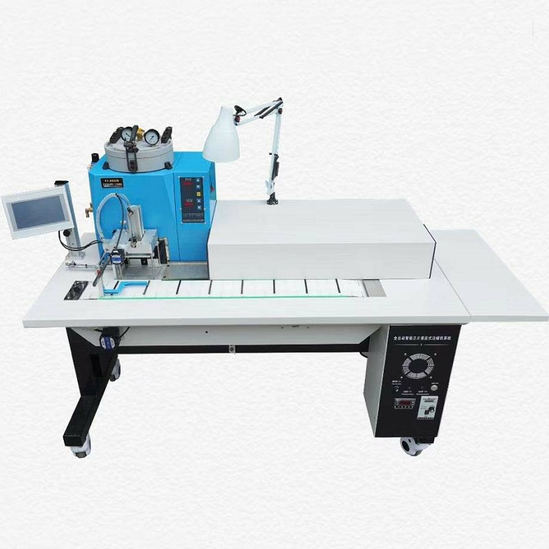 Automatic Conveyor Belt Vacuum Wax Injector with Cooling System