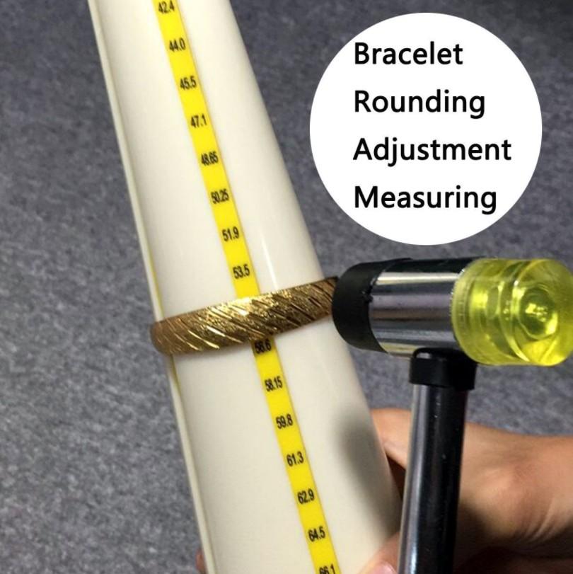 Round Plastic Bracelet Measuring Stick Slotted
