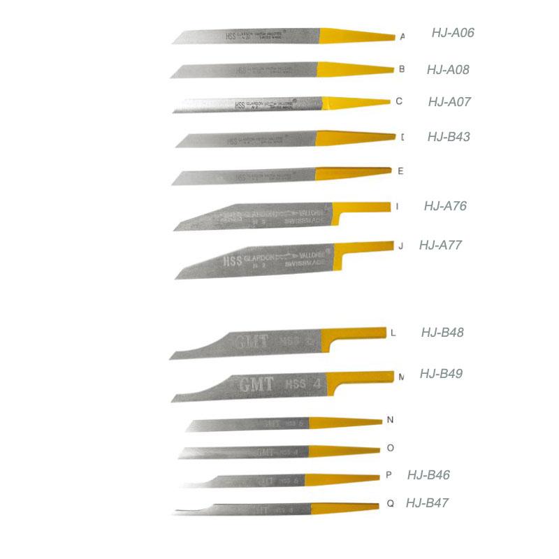 HSS Graver Knife Edge HJ-A77
