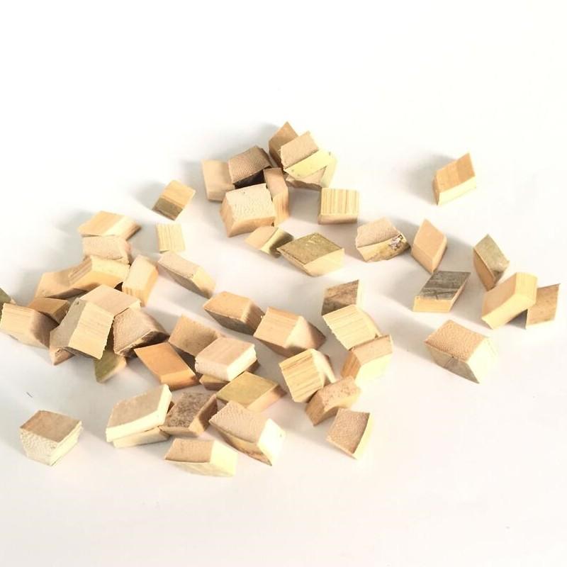 Bamboo block, bamboo Beads