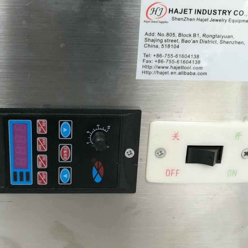 Speed Control Gemstone Faceting Machine