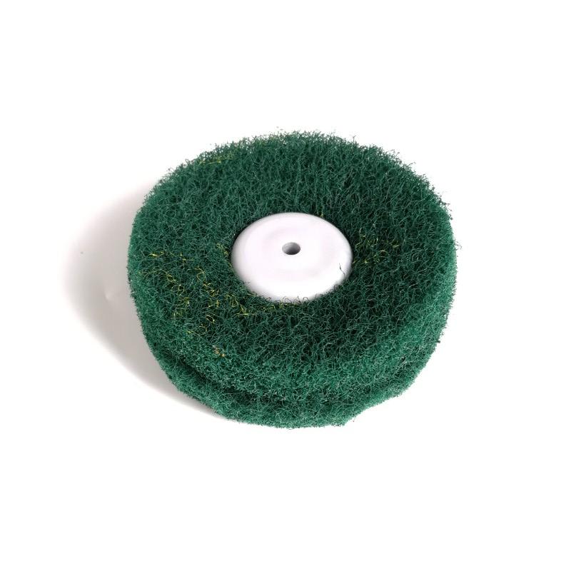 Green Non-woven, Fiber Polishing Wheel