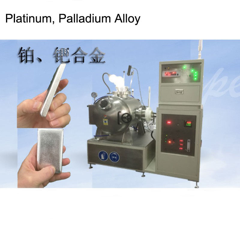 High Vacuum Melting Furnace for Platinum Palladium