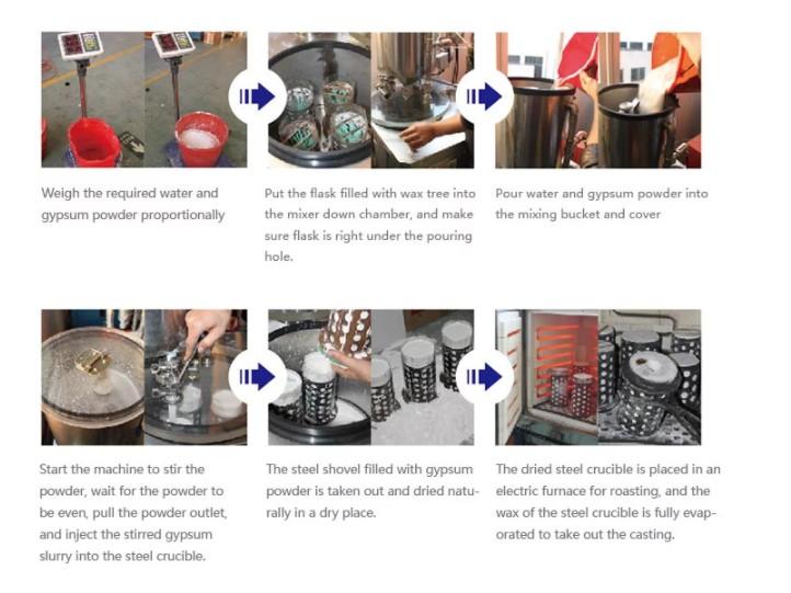 Investment Vacuum Mixer
