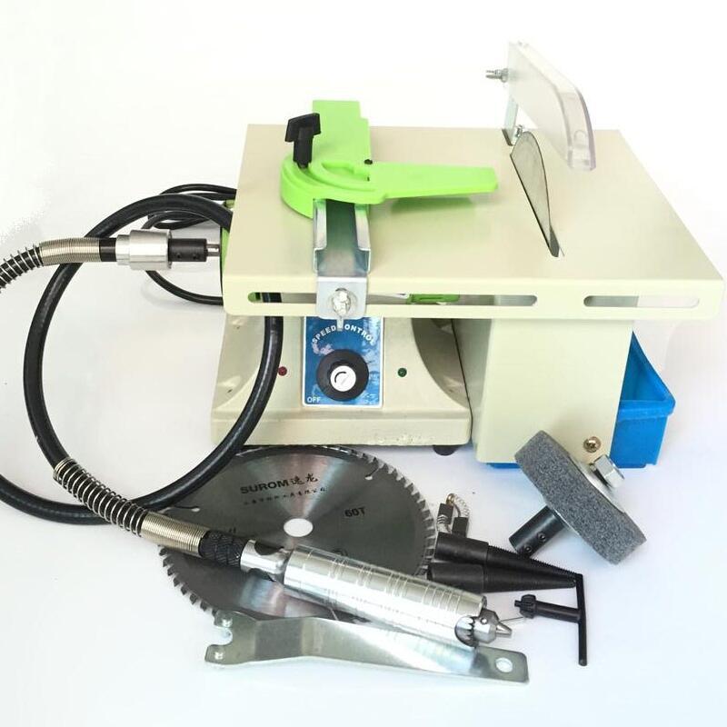 Gemstone Cutting and Polishing Machine with Shaft
